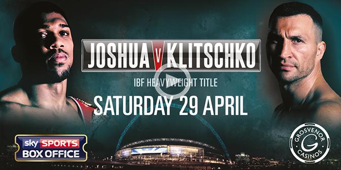 Klitschko Live Streaming